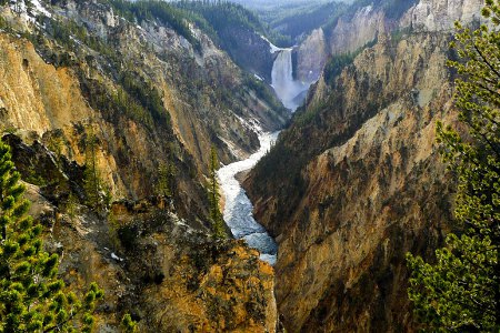 Cascate di Yellowstone