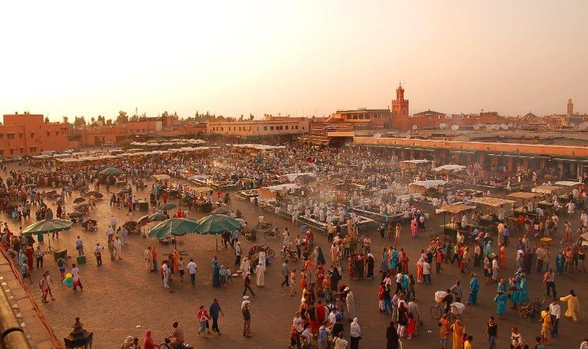 Marrakech Marocco Città Imperiali