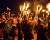 Up Helly Aa Marcia e Processione