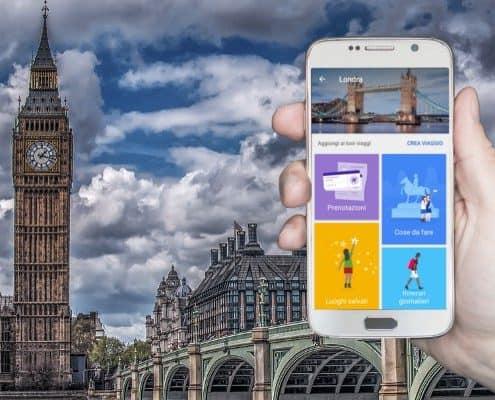 App Organizzare Viaggi e Itinerari
