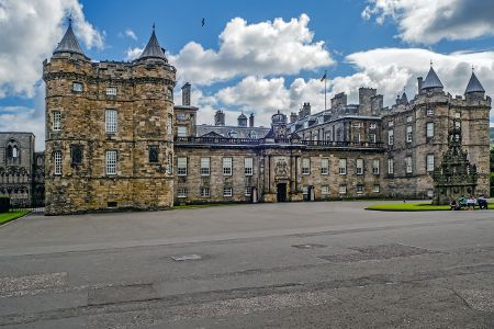 Palace of Holyroodhouse Edimburgo