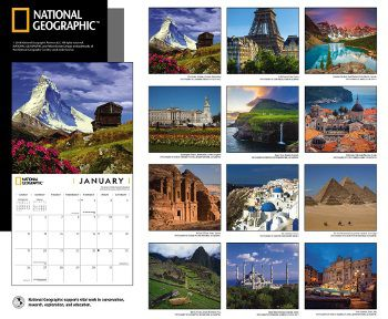 National Geographic 2020 calendar
